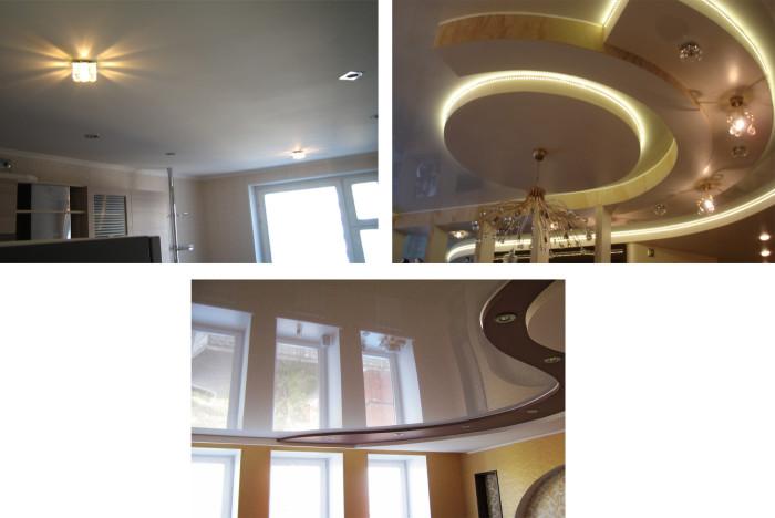 Варианты дизайна гипсокартонных потолков
