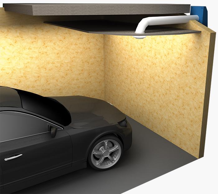 Обеспечение воздуху доступа в гараж