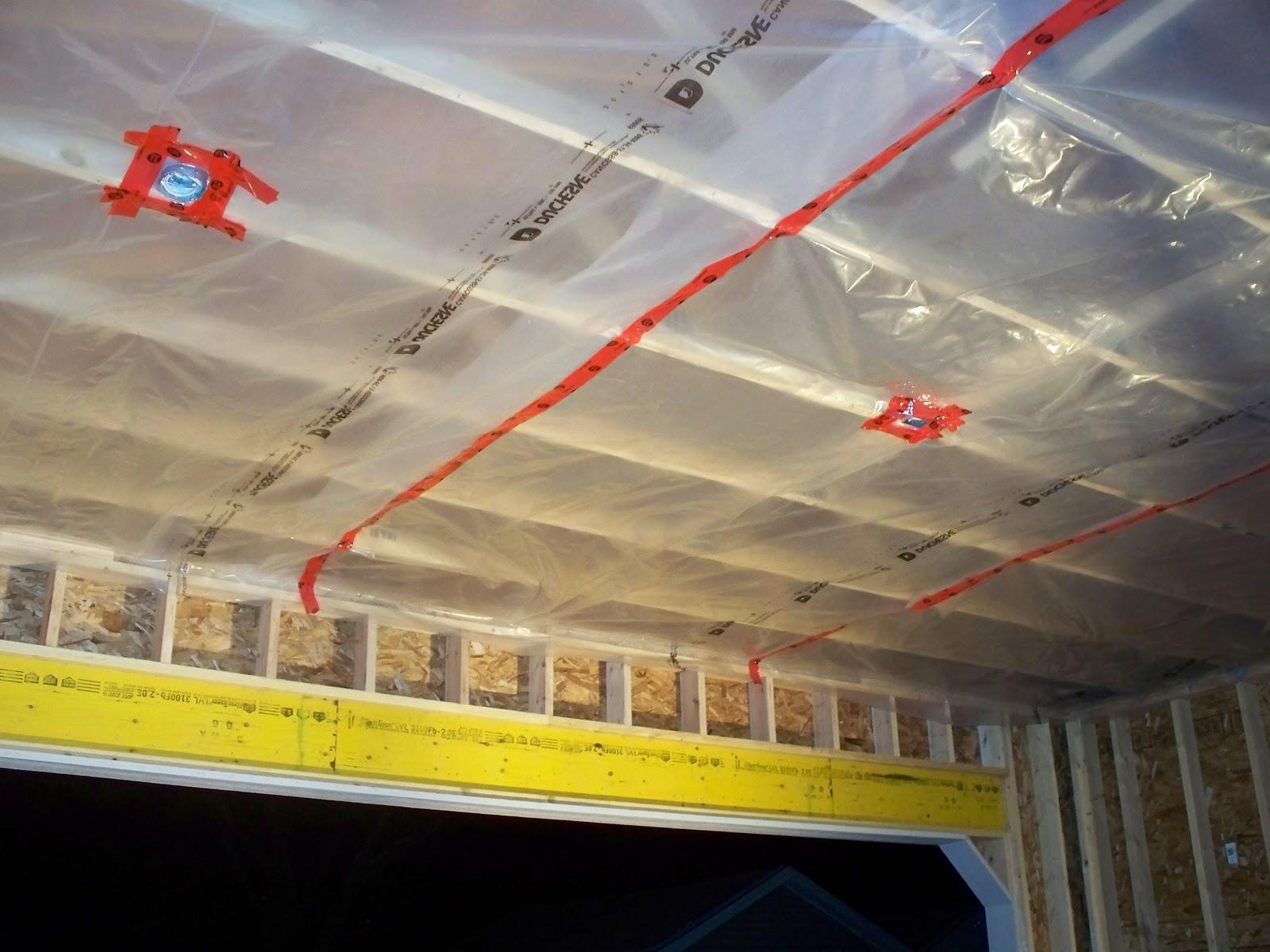 Как сделать гидроизоляцию потолка в гараже