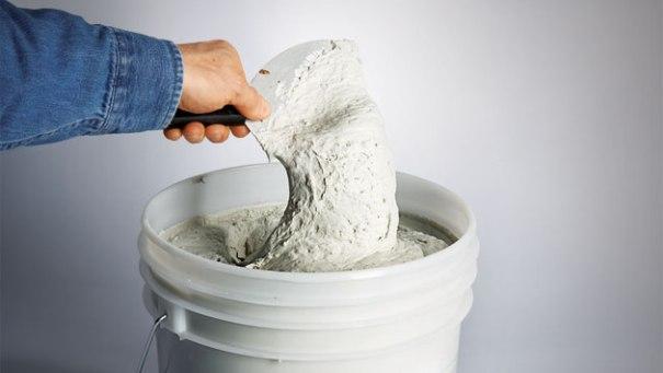 Подготовка шпатлевки к использованию