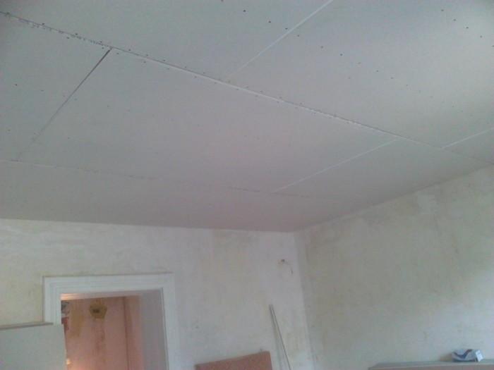 Финальная отделка потолка после выравнивания