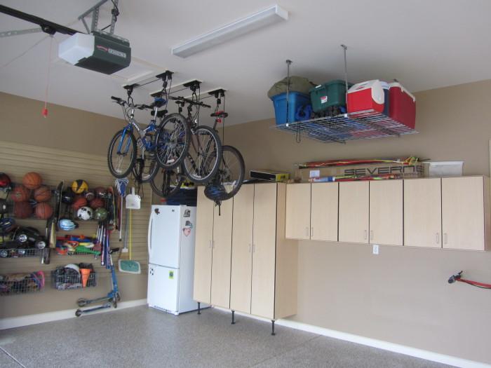 Потолок гаража с обшивкой гипсокартоном