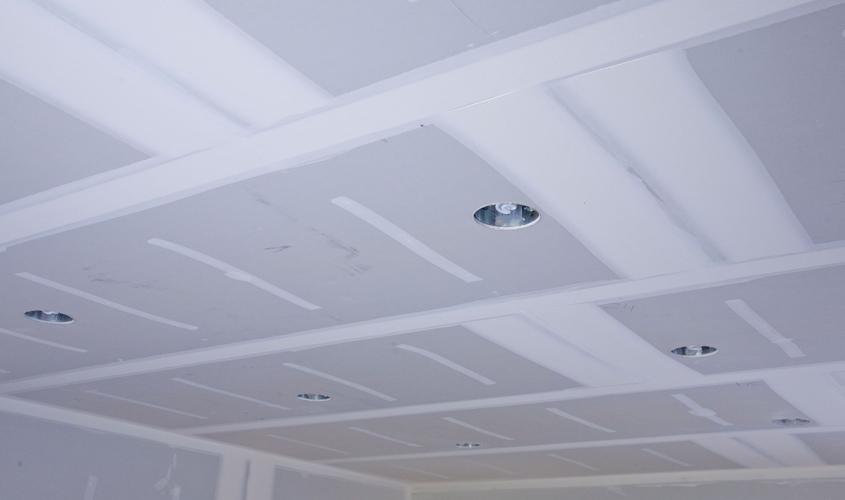 Потолок, сделанный своими руками