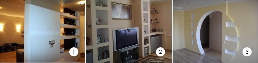 Варианты интерьера квартир