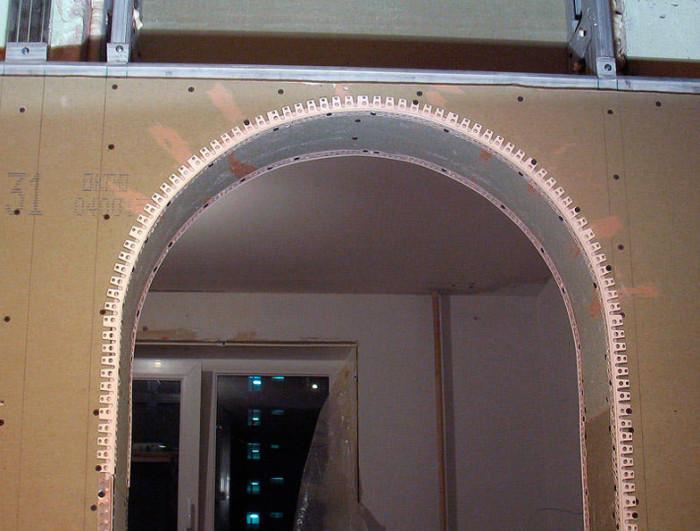Часть арки в форме дуги