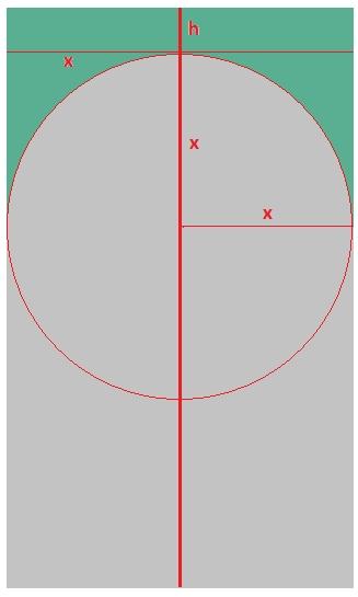 Разметка гипсокартона для боковых стенок