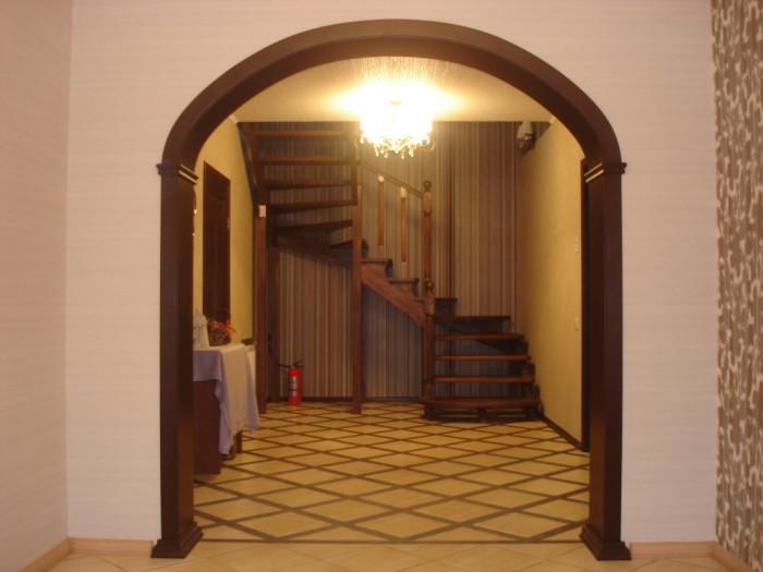 Проем с классической аркой