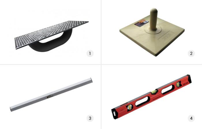Инструмент для выравнивания стен гипсокартоном