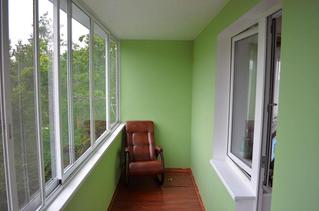 Чем и как обшить балкон своими руками изнутри - инструкция по внутренней обшивке лоджии