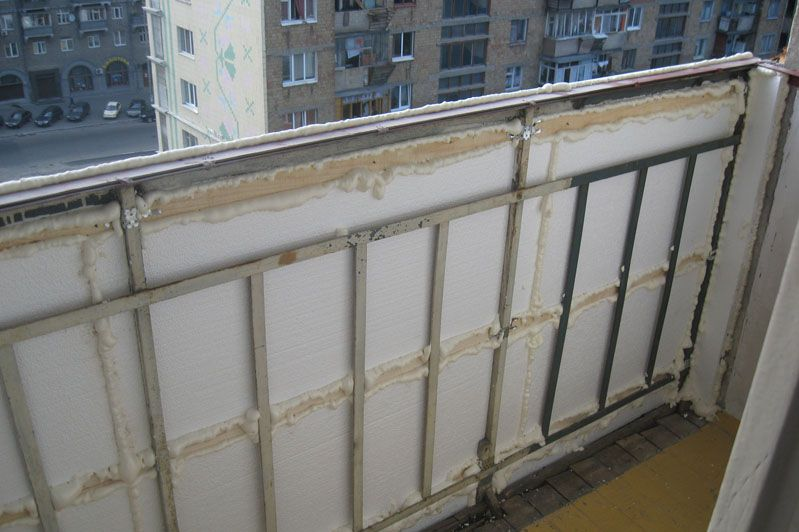 Утепляем балкон своими рука