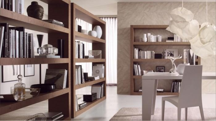 Разделение мебелью