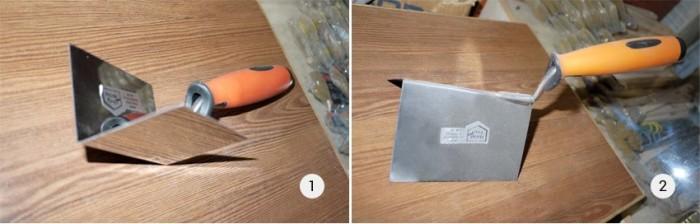 Инструменты для выравнивания углов