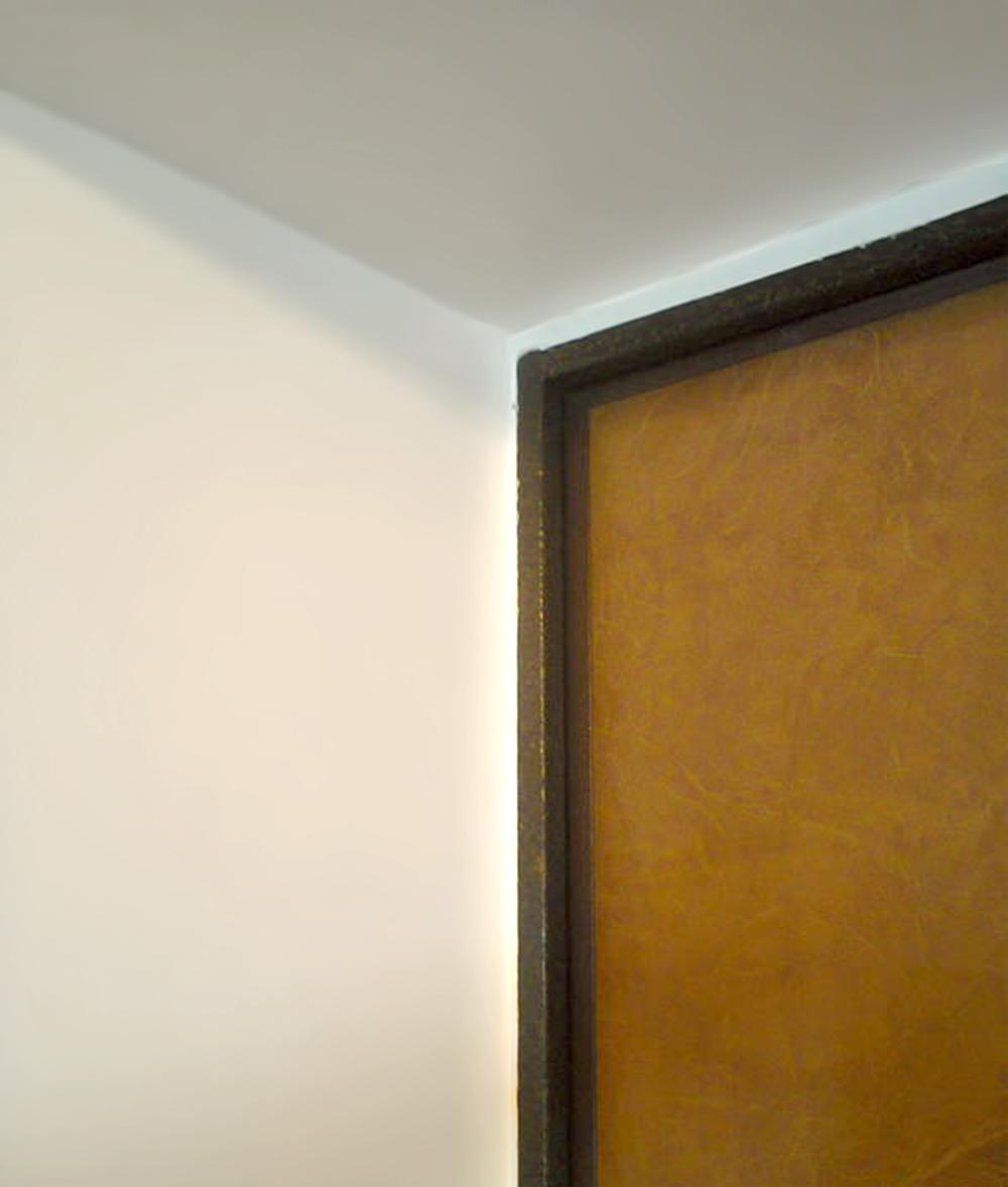 Пример оштукатуренного дверного откоса