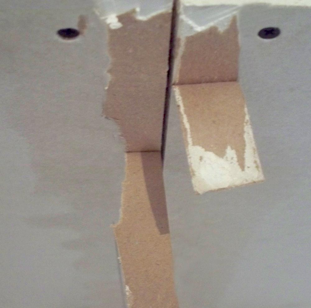 Поврежденный лист