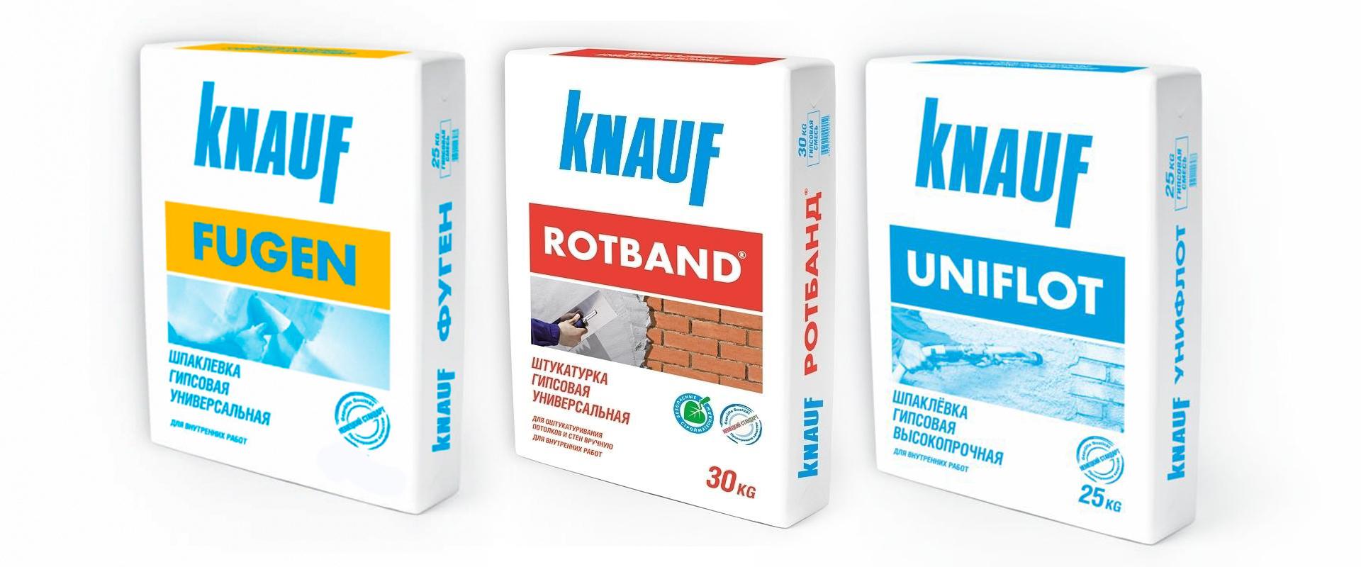 Финишная шпаклевка от Knauf