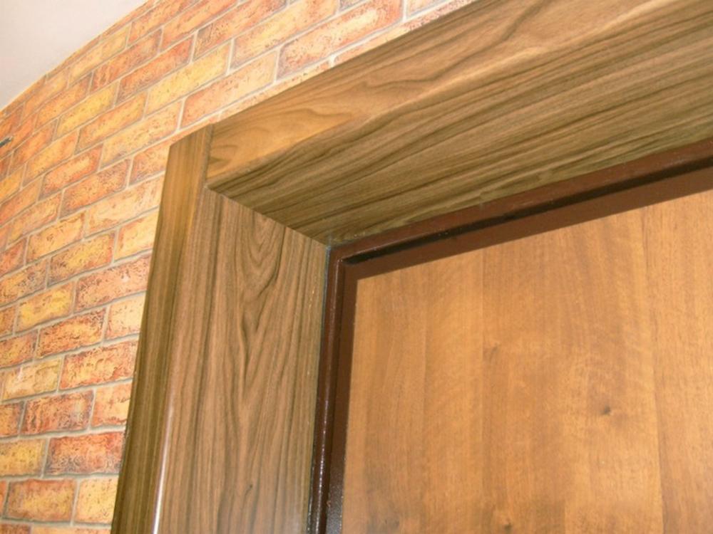 Отделка межкомнатных дверей ламинатом своими руками 3