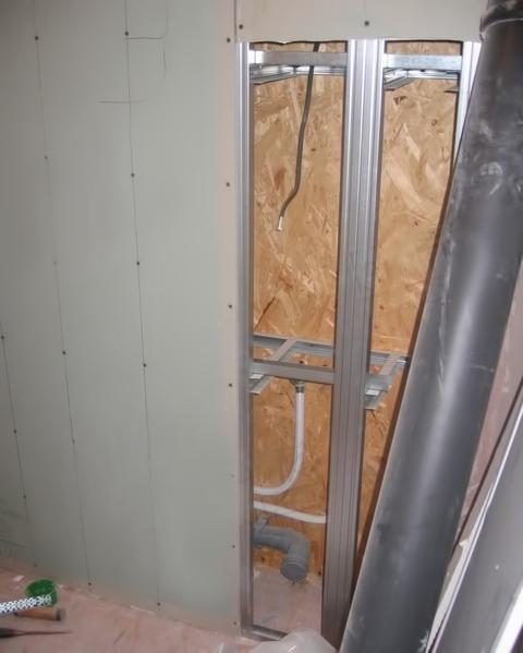 Туалет из гипсокартона своими руками в деревянном доме 97