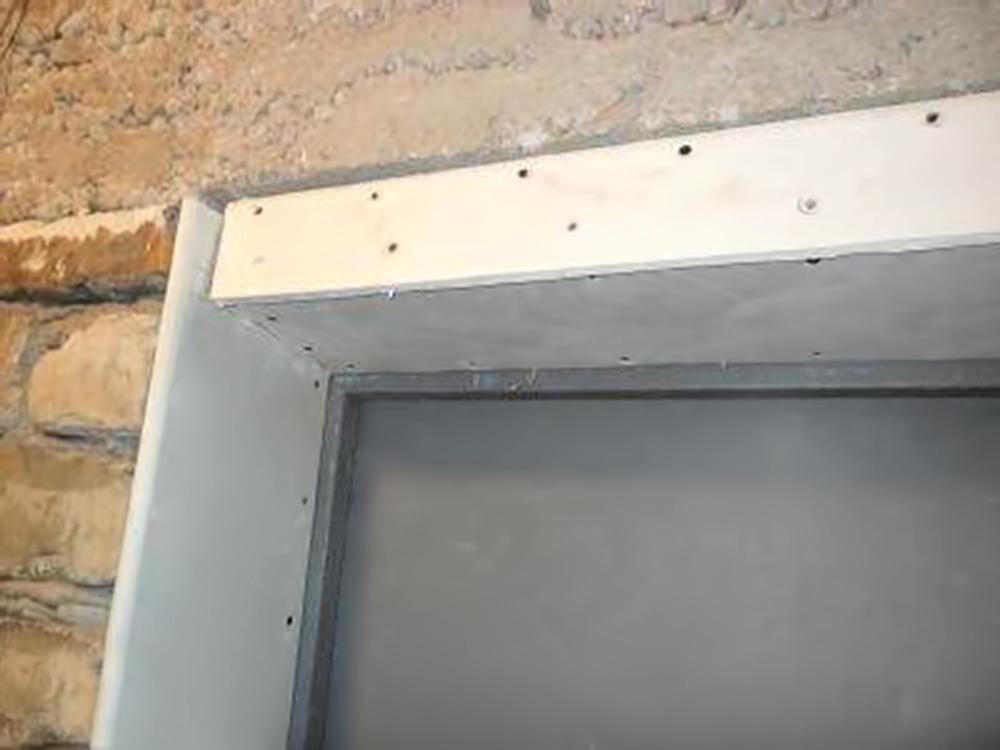 Монтажные работы перед отделкой входной двери