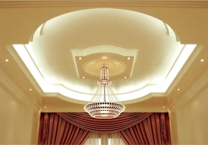 Как сделать потолки из гипсокартона красиво