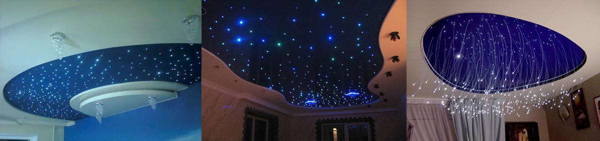 Фото потолков со звездами