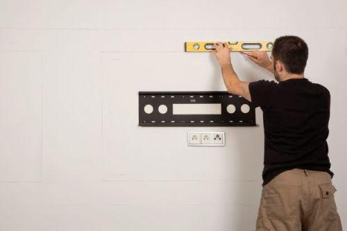 Нанесение разметки для гипсокартонной конструкции