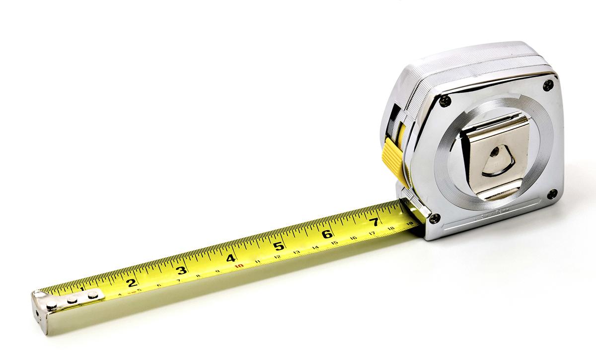 Измерительная строительная рулетка