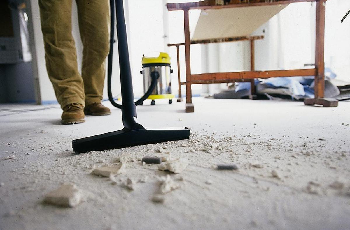 Гипсокартонная  пыль вредна для здоровья